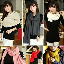 Girl Lady Women's Men Winter Warmer Fashion Long Soft Cashmere Shawl Wrap Scarf
