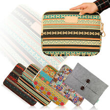 "Canvas Laptop Bag Sleeve Pouch For Mac Book Air Pro Retina 13"" 13.3 Inch"