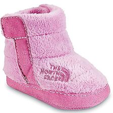 NEW The North Face Baby Girl Pink  leece Boots Sz 1(NB)-Orig $30