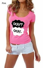 Okay Okay - The Fault In Our Stars - Low V- Neck  - Tank - Top - Tshirt