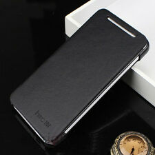 Luxury Flip PU Book-Style Leather Case Hard Cover Back Pouch Skin For HTC ONE M7