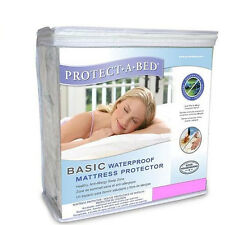The Protect-A-Bed  Basic Waterproof Mattress Protector Cover