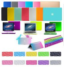 "Satin Rubberized Hard Case For Macbook Air Pro White 11 13 15"" A1502 A1398 A1466"