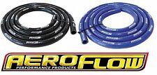 AEROFLOW SILICONE RUBBER HEATER HOSE GLOSS BLACK / BLUE VARIOUS LENGTHS
