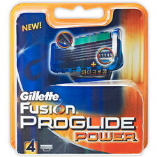 Gillette Fusion Proglide Power Razor Blade Refills Cartridges 1, 4, 8, 16, or 24