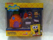 BNIB SPONGEBOB SQUAREPANTS MINI PLAYSET - MR KRABS, SQUIDWARD OR SPONGEBOB