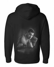 Airbrush Portrait of Boxer Mike Tyson Hoody WBC, WBA and IBF  in all sizes