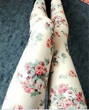 2014 New The Korean Women Denim Leggings Roses Wholesale Slim Was Thin Leggings