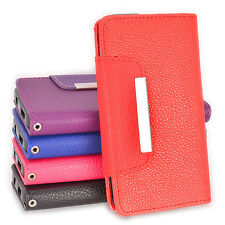 5in1 Side ID Wallet PU Leather Case Cover for Nokia Lumia 630 + Cable + Stylus +