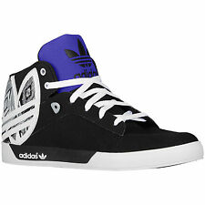 Adidas Originals Attitude Vulc Big Logo Sneakers, Black White G98514 Hard Court