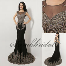 Mermaid Designer Prom Party Fashion Pretty Luxury Evening Formal Gowns Dresses