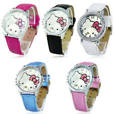 New lovely hellokitty Girls Ladies Wrist Watch Quartz Fashion Gift Nice