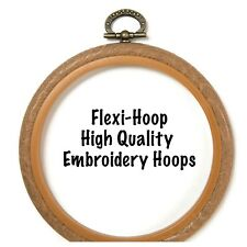 Flexi hoop Embroidery Hoop - Various Sizes and colours