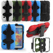 WK Shockproof Waterproof Survivor Military  Case Cover For Samsung GalaxyS5 UK 2