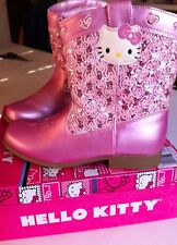 Hello Kitty Cowboy/girl Boots Trixie PINK Tod Szs 9-13M NIBWT LIMITED QUANTITY