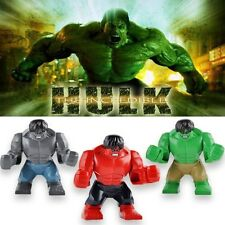 Avengers Super Heroes SuperSize HULK Mini Figure Fit with LEGO Toy