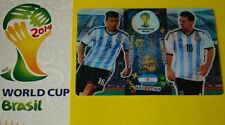 WORLD CUP BRASIL 2014 DOUBLE TROUBLE TOP MASTER GAME CHANGER MESSI RONALDO HULK