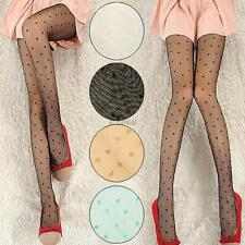 Stylish Polka Dot Pattern Sexy Sheer Pantyhose Stockings Tights Slim Leggings