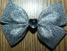 GIRL PARTY BEAUTIFUL HAIR SATIN BOWS CLIPS *NEXT DAY DISPATCH