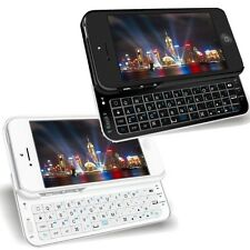 Ultra Thin Backlit Wireless Bluetooth Keyboard Case Cover for Apple iPhone 5 5S