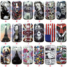 Cute Hard Back Case Cover for Samsung Galaxy Trend Plus / S7580 / S7582