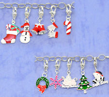 Wholesale Christmas Clip On Charms. Fit Chain Bracelet
