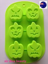 Halloween Pumpkin Chocolate Fondant Cake Cookie Silicone Ice Cube Mould Mold