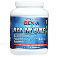 GEN-X NUTRITION - PREMIUM ALL IN ONE-PROTEIN-CREATINE-HMB- 908 g - ALL FLAVOURS
