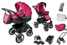 Lux4Kids Cosmos 3 in 1 System Kombi Kinderwagen Travel System