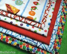 Very Hungry Caterpillar 100% Cotton Fabrics from the Bolt for Quilt Craft Sewing