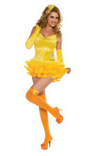 LICENSED SEXY TWEETY BIRD LOONEY TUNES ADULT WOMENS DRESS UP HALLOWEEN COSTUME
