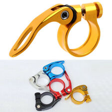 K1BO 31.8mm MTB Bike Cycling Saddle Seat Post Clamp Quick Release QR Style New