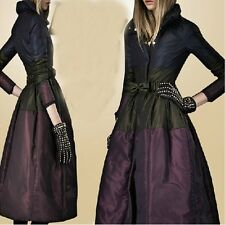 Europe New Women's Sexy Super Long Overcoat Thicken Large Size Down Jacket y530