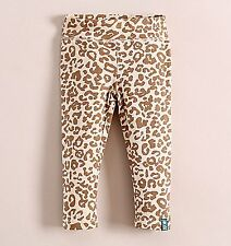 Girls Kid Children Leopard Print Pants Bottoms Trousers Tights 12m-3years