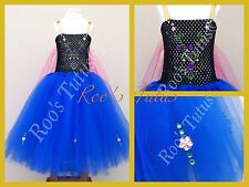Anna Disney Frozen Inspired Tutu Dress Costume (handmade). Elsa, Princess dress