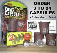 Refillable Reusable Coffee Single Cup Filter for Keurig K-Cups * Mr Coffee* Bunn