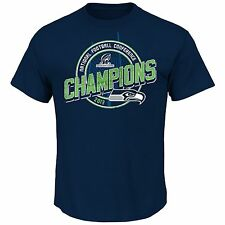 Seattle Seahawks 2013 NFC Conference Champions Shirt Supremacy IV Blue