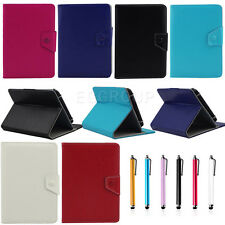 """Adjustable 8"""" Synthetic Leather Folio Stand Case Cover For 7.85""""~8"""" Inch Tablet"""