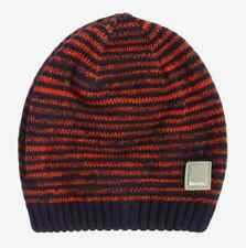 New Bench Boys Navy And Orange Beanie Hat BBWK2033