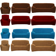 Super Fit Slipcover Recliner 2 Seater 3 Seater Stretch Sofa Couch Lounge Covers