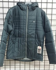 Quiksilver Men's mountain division hooded Grey Jacket NWT!!!!!