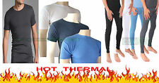 MENS THERMAL WARM WINTER UNDERWEAR T-SHIRTS AND LONG JOHNS S/M/L/XL SIZES UK