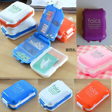 Weekly Sort Folding Vitamin Medicine Drug Pill Box Storage Case Container