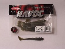 Berkley HAVOC Beat Shad 4 in Bass Fishing Lure bait tackle smallmouth stripers