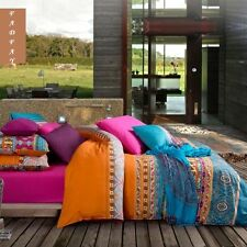 Bohemian Duvet Covers Boho Bedding Sets Western Style Queen Size Bedding Set