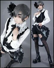 Black Butler Costume Cosplay Ciel Dress Women Gothic Lolita Costume S M L XL XXL