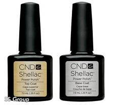 CND Shellac Power Polish, Choose Top Coat, Base Coat or Top & Base Coat SET