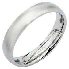 INOX Stainless Steel Polish Finished Wedding Bands, His and Hers FRM5001
