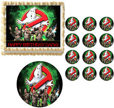 Ghostbusters Ghost Busters Party Edible Cake Topper Frosting Sheet All Sizes!