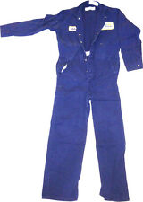 COVERALLS MECHANICS 100% COTTON w/ Button or Snap Closure (Pre-Worn & Laundered)